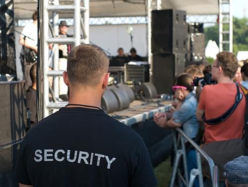 Entreprise de sécurité événementielle